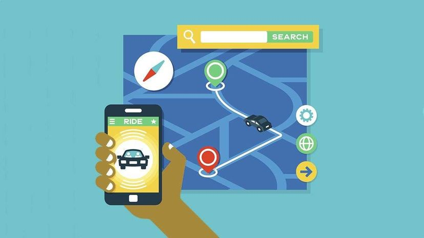 Popular ridesharing app Uber recently invested $500 million into developing its own mapping system. filo/Getty Images