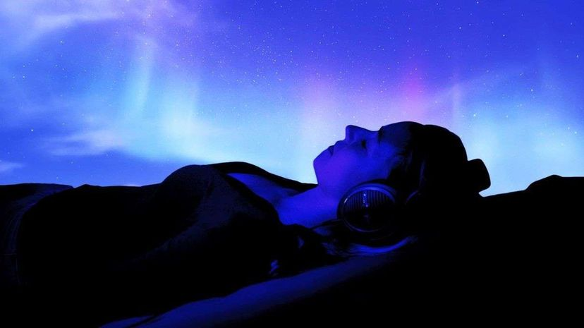 Ambient music is a broad musical genre that emerged out of 1970s electronic sound experimentation. And listening to it can totally help calm you down. BSIP/UIG/Inglfur Biargmundsson/Getty Images