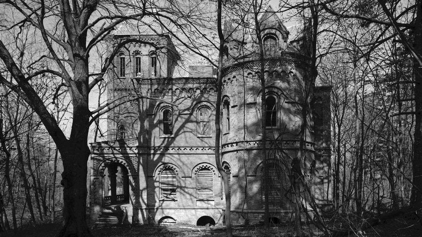 This photo of Wyndclyffe is one of several from a collection that the Library of Congress makes available. Just click on the Historic American Buildings Survey credit to see more. Historic American Buildings Survey