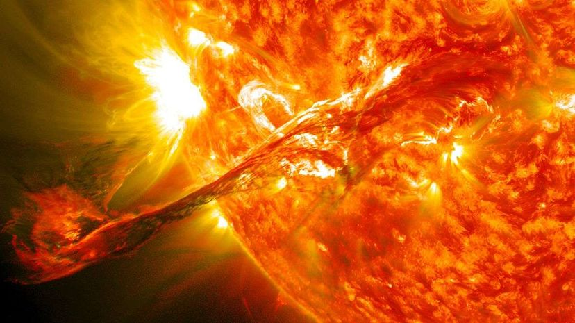 The Faint Young Star Paradox: Solar Storms May Have Been Key to Life on Earth NASA Goddard Space Flight Center/Genna Duberstein
