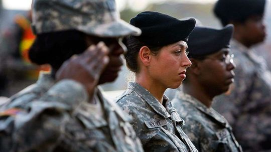 U.S. Lawmakers Ask Whether It's Time for Women to Register for the Draft