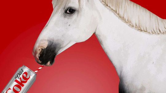 One Time This Pony Drank a Lot of Diet Coke. Here's Why