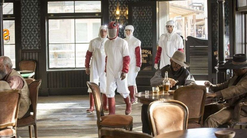"A scene from HBO's ""Westworld."" John P. Johnson/HBO"
