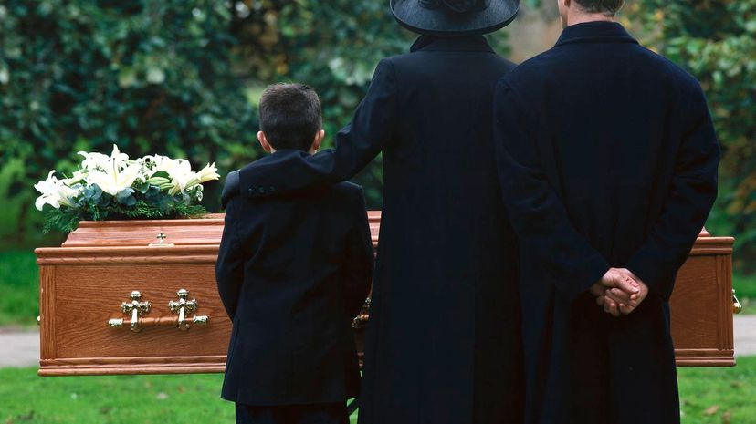 In most states, it is perfectly legal to do a home burial. Stockbyte/Getty Images