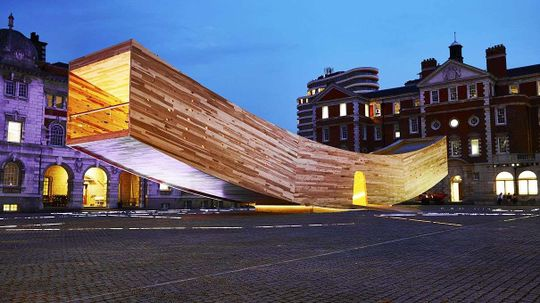 London 'Smile' Challenges World to Build Smarter Wooden Structures