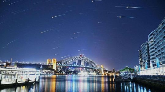 When Skywriting Just Isn't Enough: Fake Meteor Showers and Space Ads!