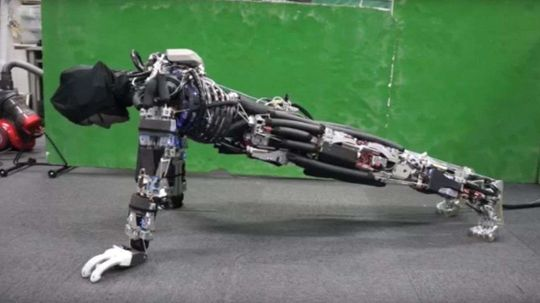Japanese Engineers Create Robot That Does Pushups, Sweats to Cool Off