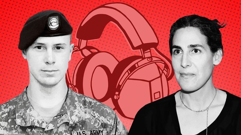 """Podcasting superstar Sarah Koenig and crew have returned with another season of """"Serial,"""" and this time it follows the compelling story of Bowe Bergdahl (pictured left). U.S. Army/Taylor Hill/Getty"""