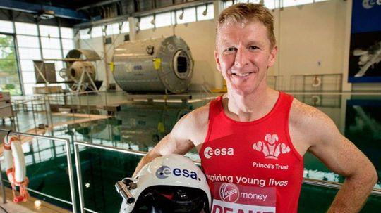 Tim Peake Ran a 3:35:21 Marathon — From Space