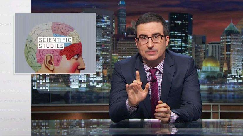 Last Week Tonight with John Oliver: Scientific Studies (HBO) Last Week Tonight