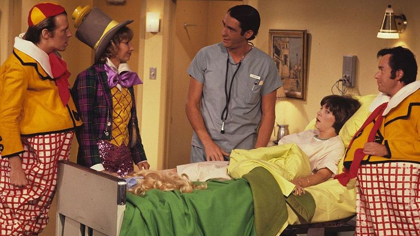 """The TV show """"Laverne & Shirley"""" featured an episode where Shirley's appendix is about to burst, but she fears losing her hair for the operation. ABC Photo Archives/ABC via Getty Images"""