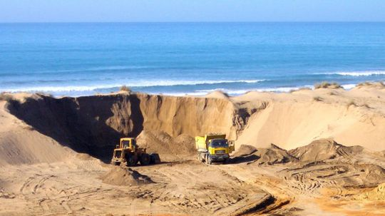 Sand Is in Such High Demand, People Are Stealing Tons of It