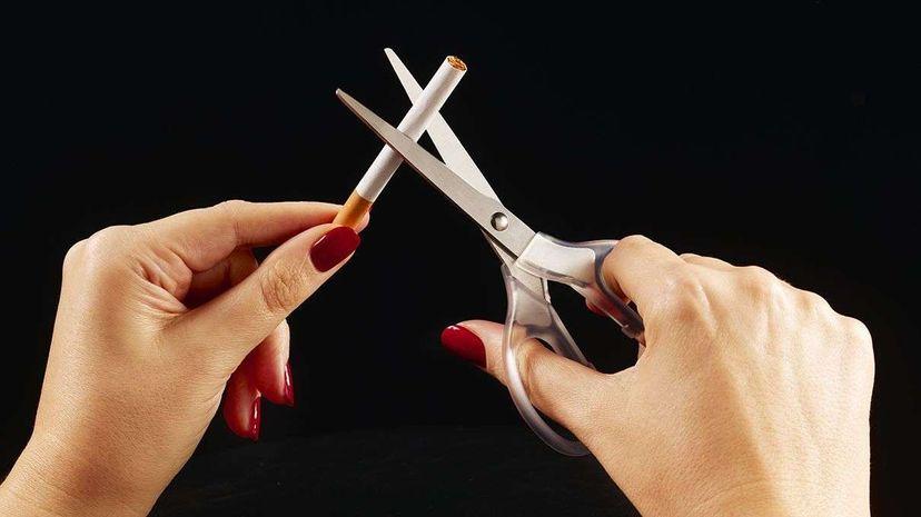 Progesterone might help women control addictive behaviors beyond just smoking. Peter Dazeley/Getty Images