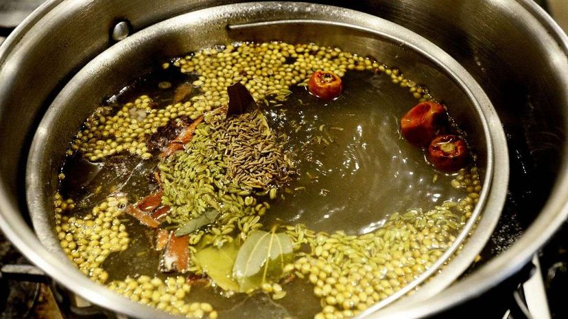Broths have been a vital part of cooking since ... well, forever. Now, a lot of foodies are getting behind the old-school technique of simmering broths over long, long periods of time. Shawn Patrick Ouellette/Portland Press Herald via Getty Images