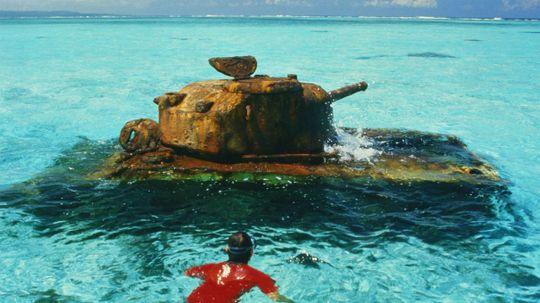 World War II Relics Still Haunt Pacific Waters