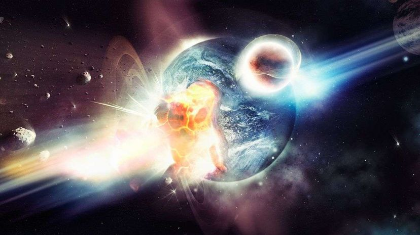 Destroying an entire planet all at once? It happens in 'Star Wars,' but could it happen in real life? Peopleimages.com/Getty Images