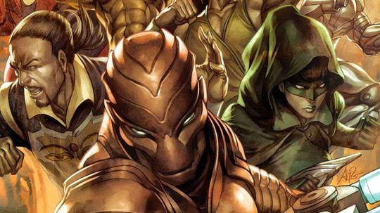 Did the Chinese Invent the Superhero Team?
