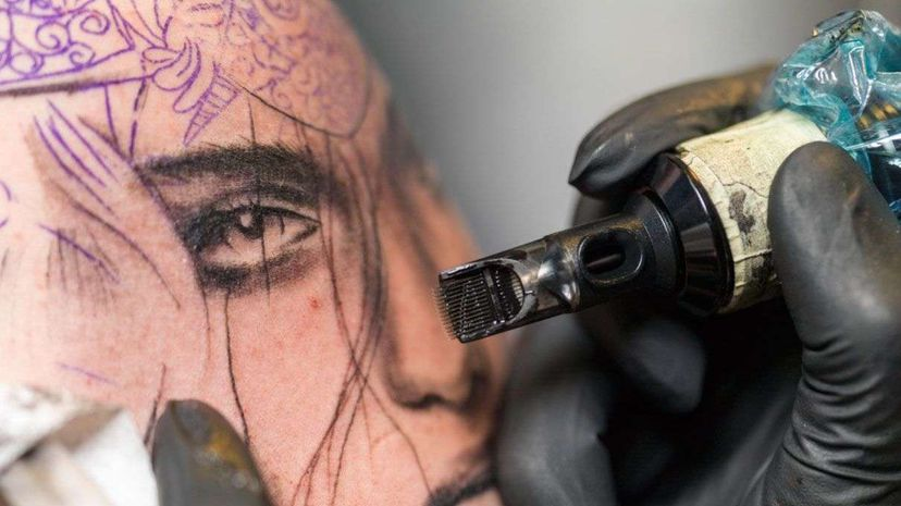 Getting tattoos may boost your immune system. westend61/Getty Images
