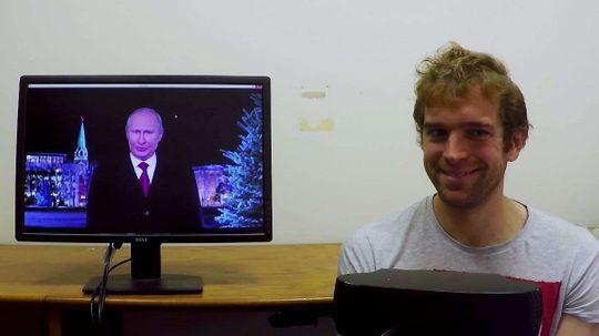 Anyone Can Make Vladimir Putin Smile