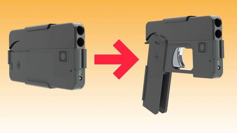 A startup company called Ideal Conceal hopes to create a gun that can be disguised to resemble an unassuming smartphone. Ideal Conceal