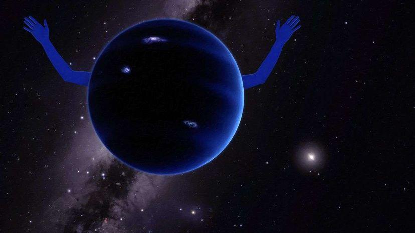 Illustration of Planet Nine