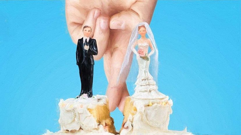 One day married, next day free? There's really no such thing as a secret divorce. Mofles/RayaHristova/Thinkstock