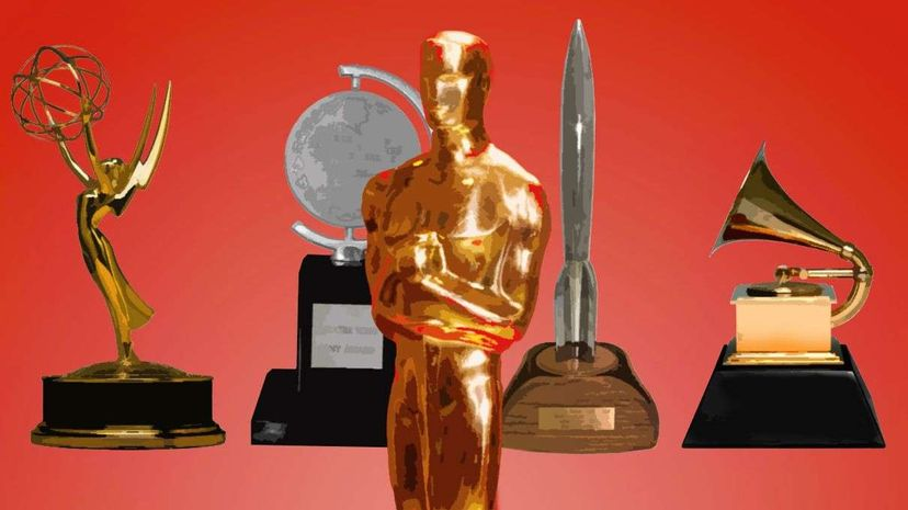 What's the secret of how the Emmy, Tony, Oscar, Hugo and Grammy Awards got their names? Getty/Corbis/HowStuffWorks
