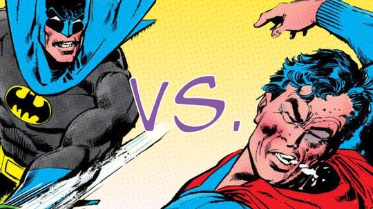 10 Unexpected Reasons Behind Past Batman vs. Superman Battles
