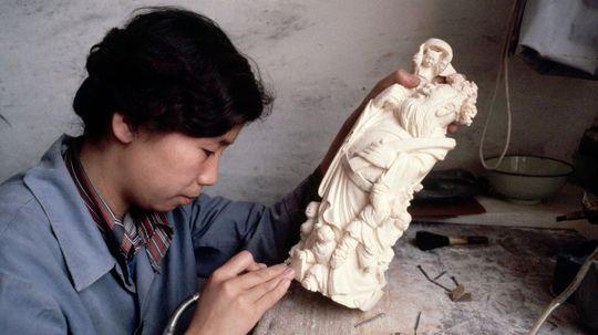 China Bans Elephant Ivory Trade