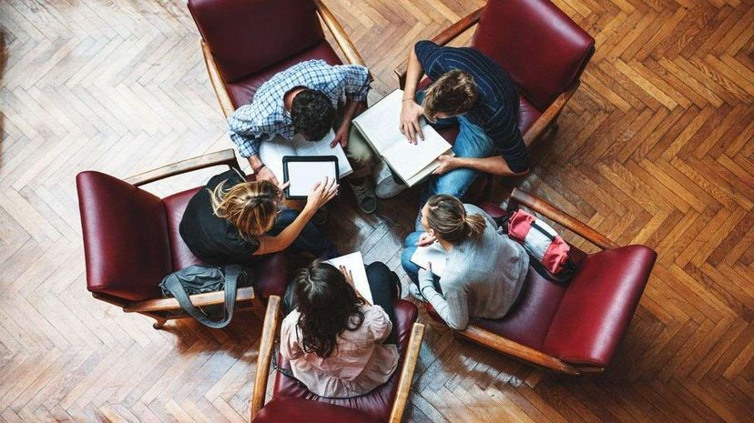 Could collaborative inhibition be bad news for pretty much every study group ever? franckreporter/Getty Images