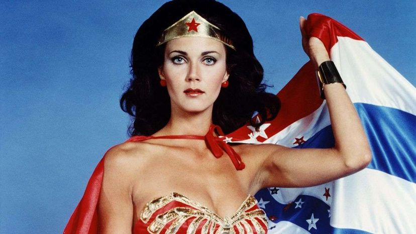 Lynda Carter, star of the 1970s TV series and pictured here, was in attendance at the special U.N. ceremony held on Oct. 21. Silver Screen Collection/Getty Images