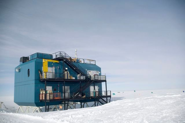 South Pole Building