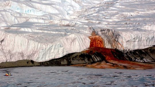 Scientists Crack Another Mystery Behind Blood Falls