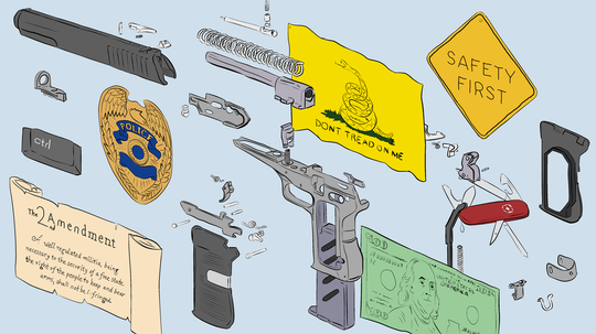 Thought Experiment: What Would a World Without Guns Be Like?