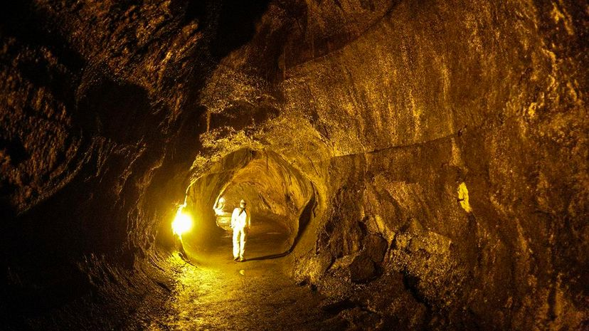 Lunar lava tubes, similar to the Thurston lava tube in Hawaii pictured here, could provide shelter for human undertakings on the moon. Henry Lydecker/Flickr