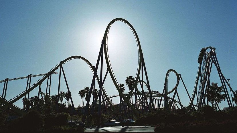 If you wanted to commit suicide, would you try a death coaster? Brian Berman/Getty Images