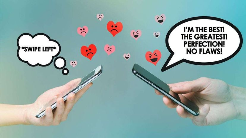 There's hope for the rest of us. Seeming flawless won't earn you points in the online dating world. PM Images/Getty/(C) 2016 HowStuffWorks