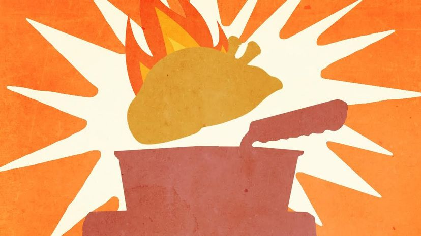 Hot oil and a frozen turkey are really combustible combination. American Chemical Society/HowStuffWorks
