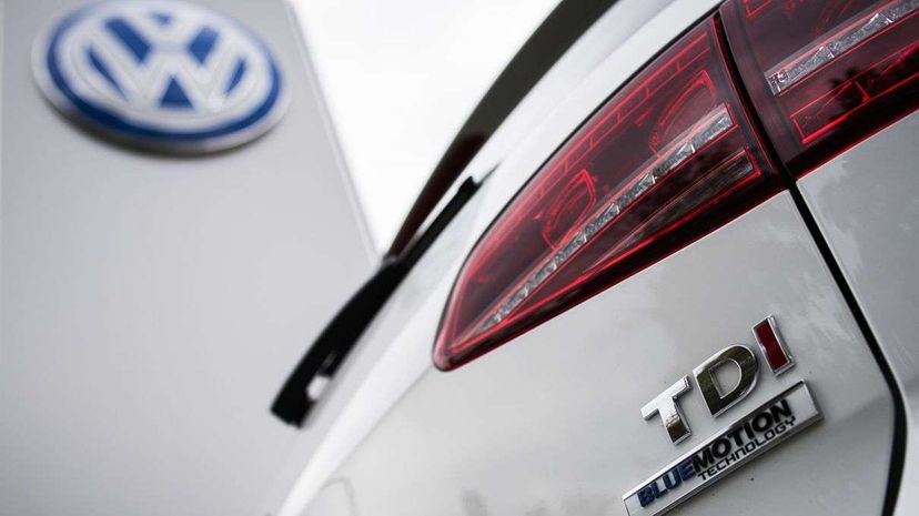 Volkswagen recently had to admit that 11 million of its diesel-powered cars are equipped with devices that intentionally cheat pollution tests. ODD ANDERSEN/AFP/Getty Images