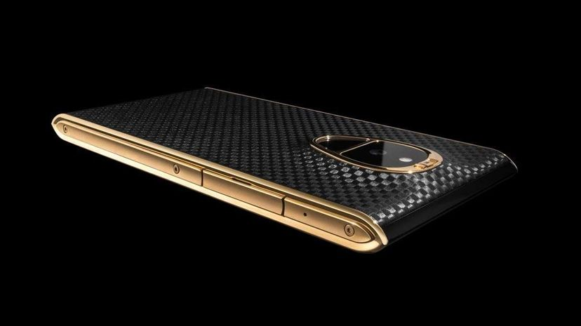 With a price of $17,400, that black-and-gold Solarin phone could be more expensive than the car you drive. Sirin Labs