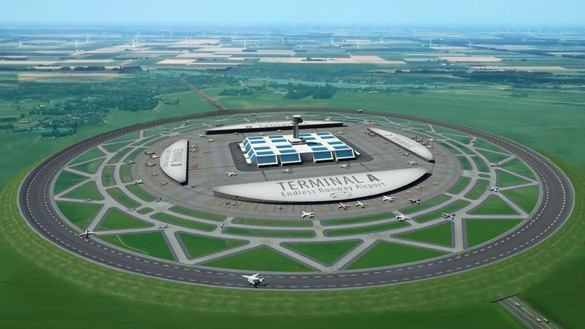 One Dutch group has created a proposal for a new way of thinking about aircraft takeoff and landing. The Endless Runway