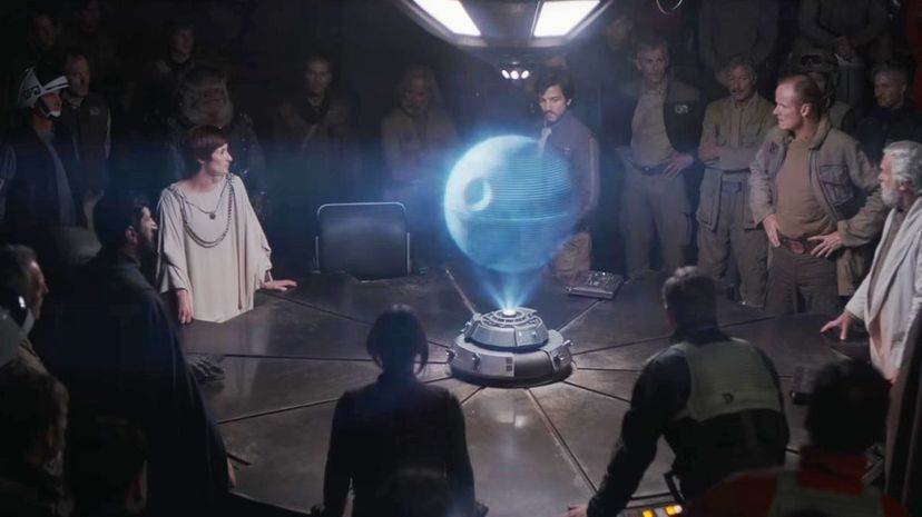 """The plot of """"Rogue One: A Star Wars Story"""" centers around an effort to steal the plans of the Death Star space station, and provides backstory for the events leading up to the first """"Star Wars"""" film. Star Wars/YouTube"""