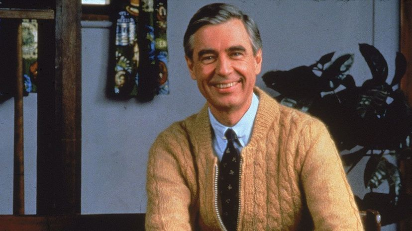 Fred Rogers, host of TV 'Mister Rogers' Neighborhood,' smiles for the camera circa 1980s.. Fotos International/Getty Images