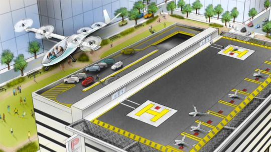 Uber's Newest Flying Car Expert Comes From NASA
