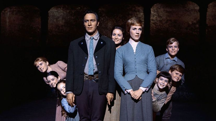 The Sound of Music cast, Julie Andrews