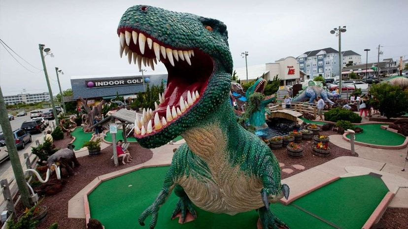 This Ocean City, Maryland, miniature golf course may be what you imagine when you think about mini golf, but there's a whole other side to this leisure activity.  Paul Souders/Corbis