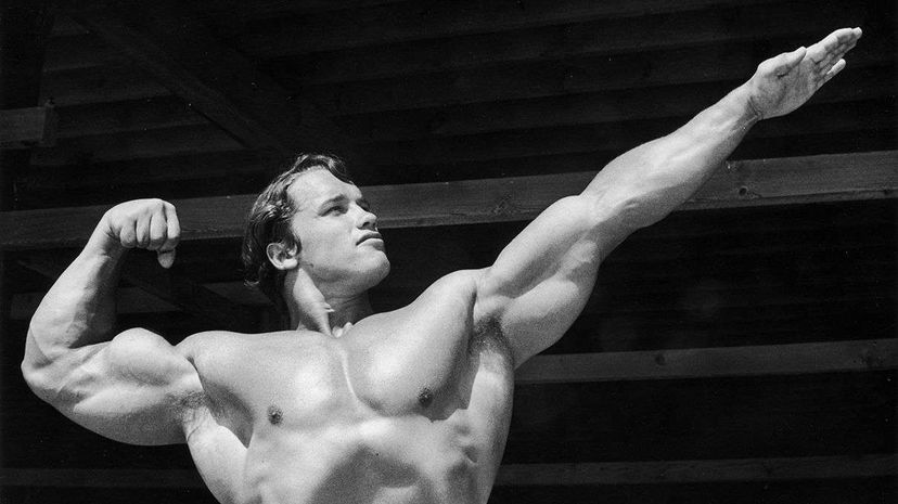 Arnold Schwarzenegger Hulton Archive/Getty Images