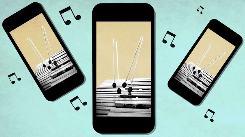 This one snippet of music is ubiquitous, heard all over the globe. Where did it come from? Apple/Miha Perosa/Getty