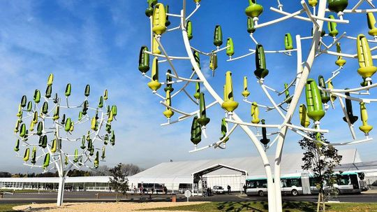 Mini Turbine 'Wind Trees' Could Generate Power for Homes, Electric Cars