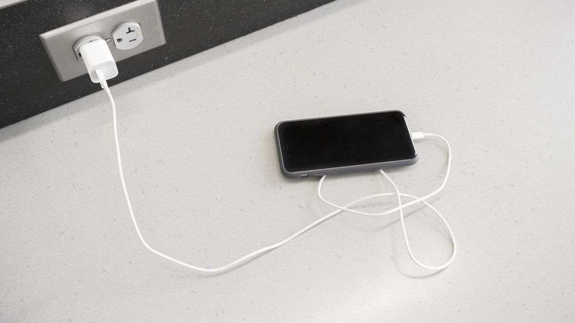 Nice to know: Your smartphone knows when its battery is fully charged. David Madison/Getty Images